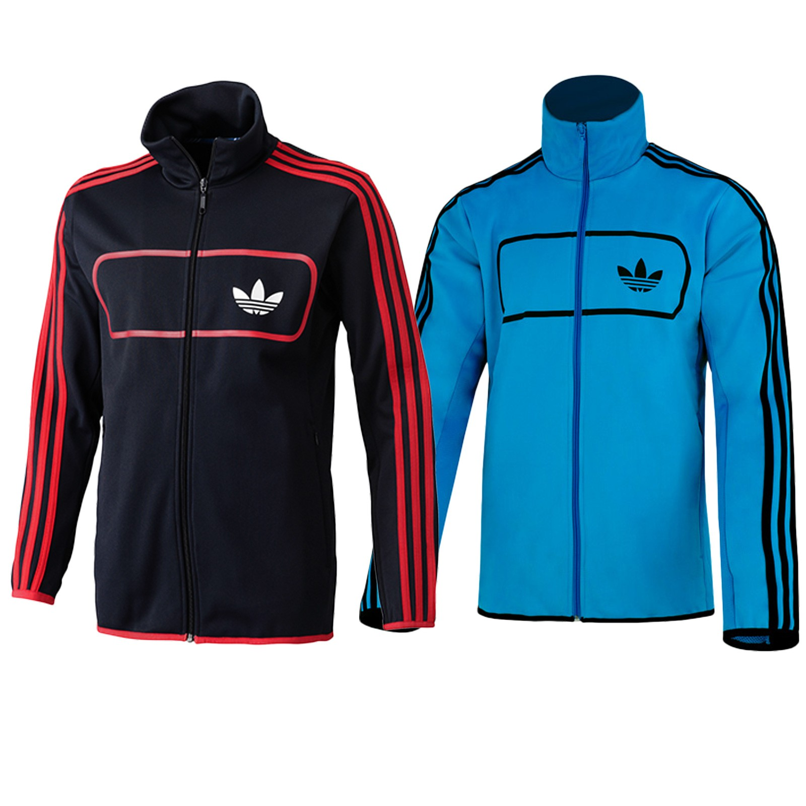about adidas originals street diver tt herren retro jacke firebird. Black Bedroom Furniture Sets. Home Design Ideas