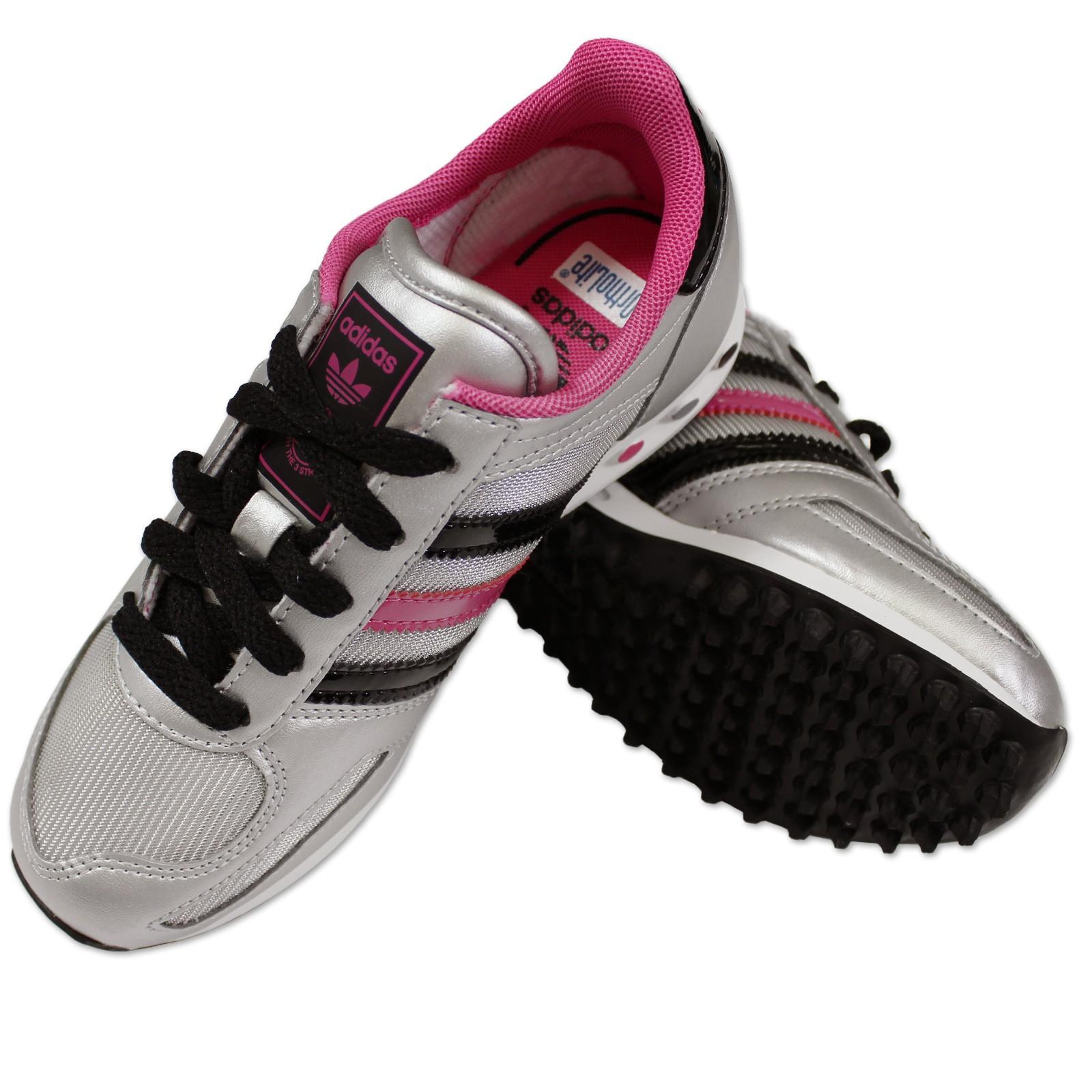 adidas originals vettura bambina scarpe sneaker argento. Black Bedroom Furniture Sets. Home Design Ideas