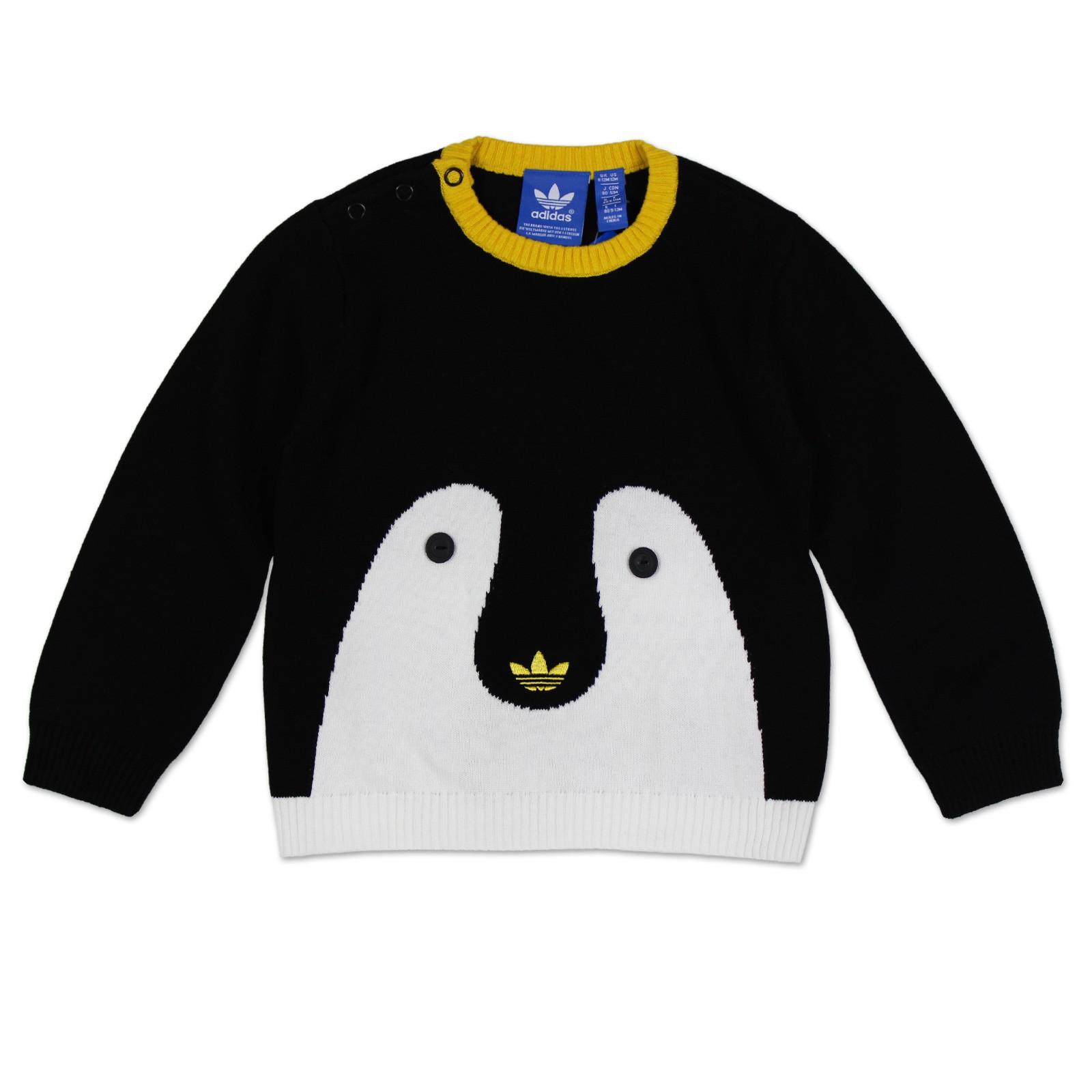 Adidas Originals Penguin Shirt Black / White