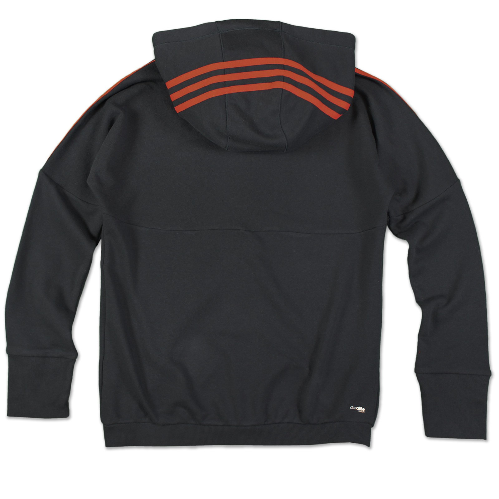 adidas ess 3s sweatjacke full zip hoody hoodie kapuzen damen grau. Black Bedroom Furniture Sets. Home Design Ideas