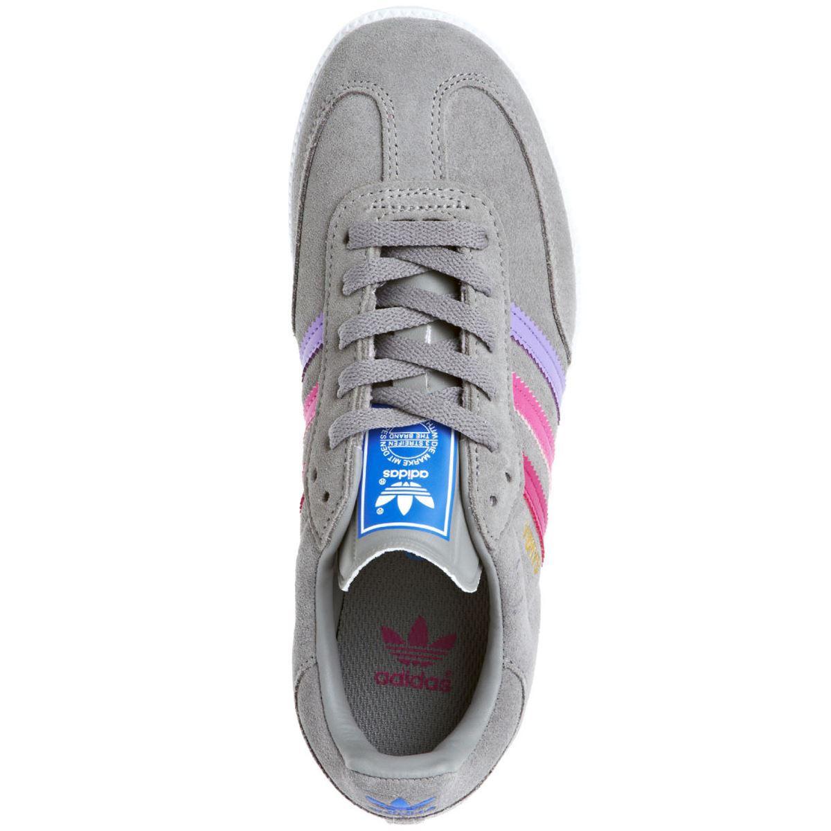 Adidas originals samba sneaker bambino pelle vintage for Adidas che cambiano colore