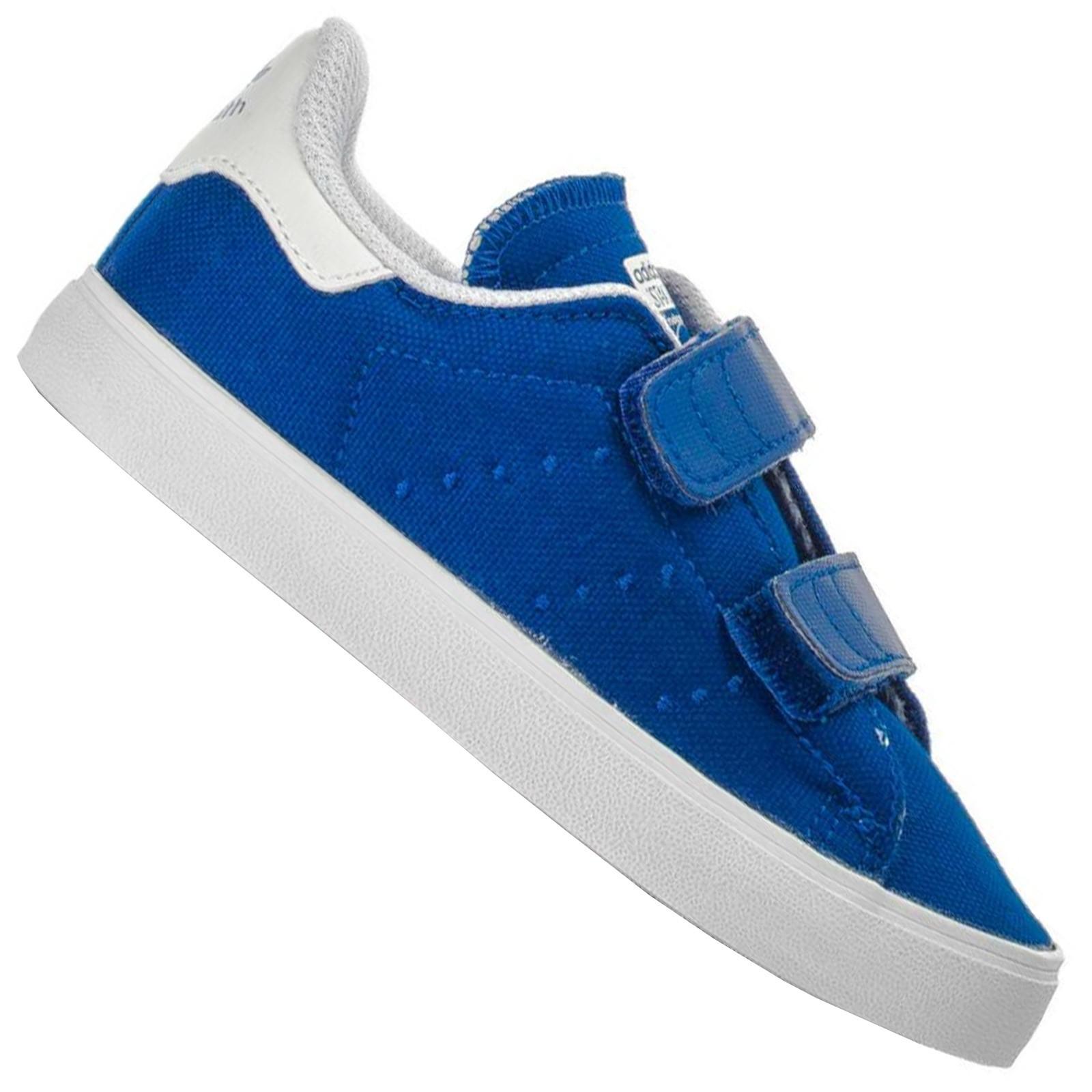 originals stan smith kids Blue