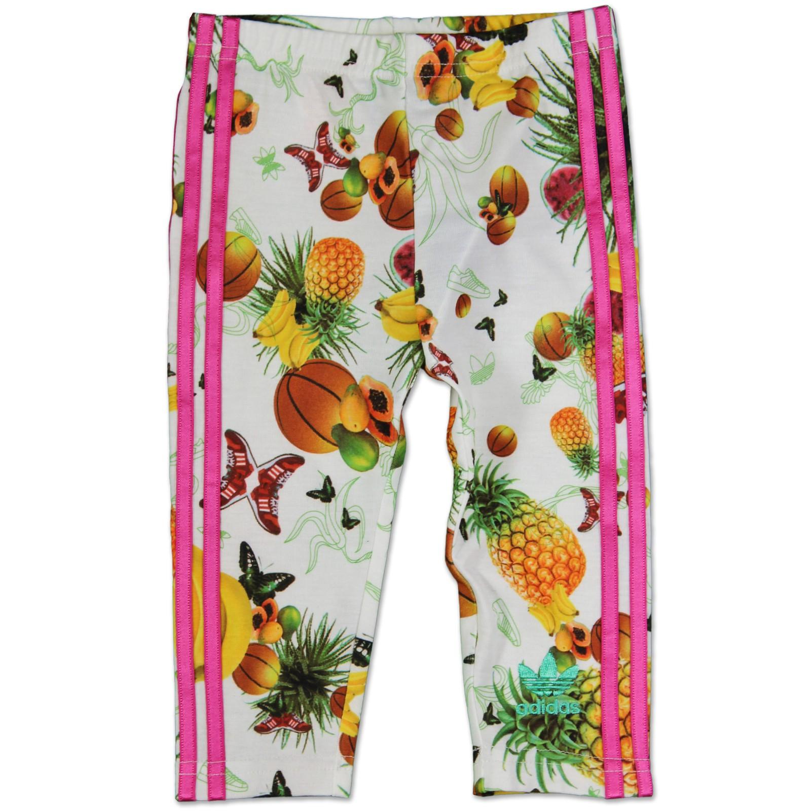 adidas originals girl flower fruits trousers baby kids. Black Bedroom Furniture Sets. Home Design Ideas