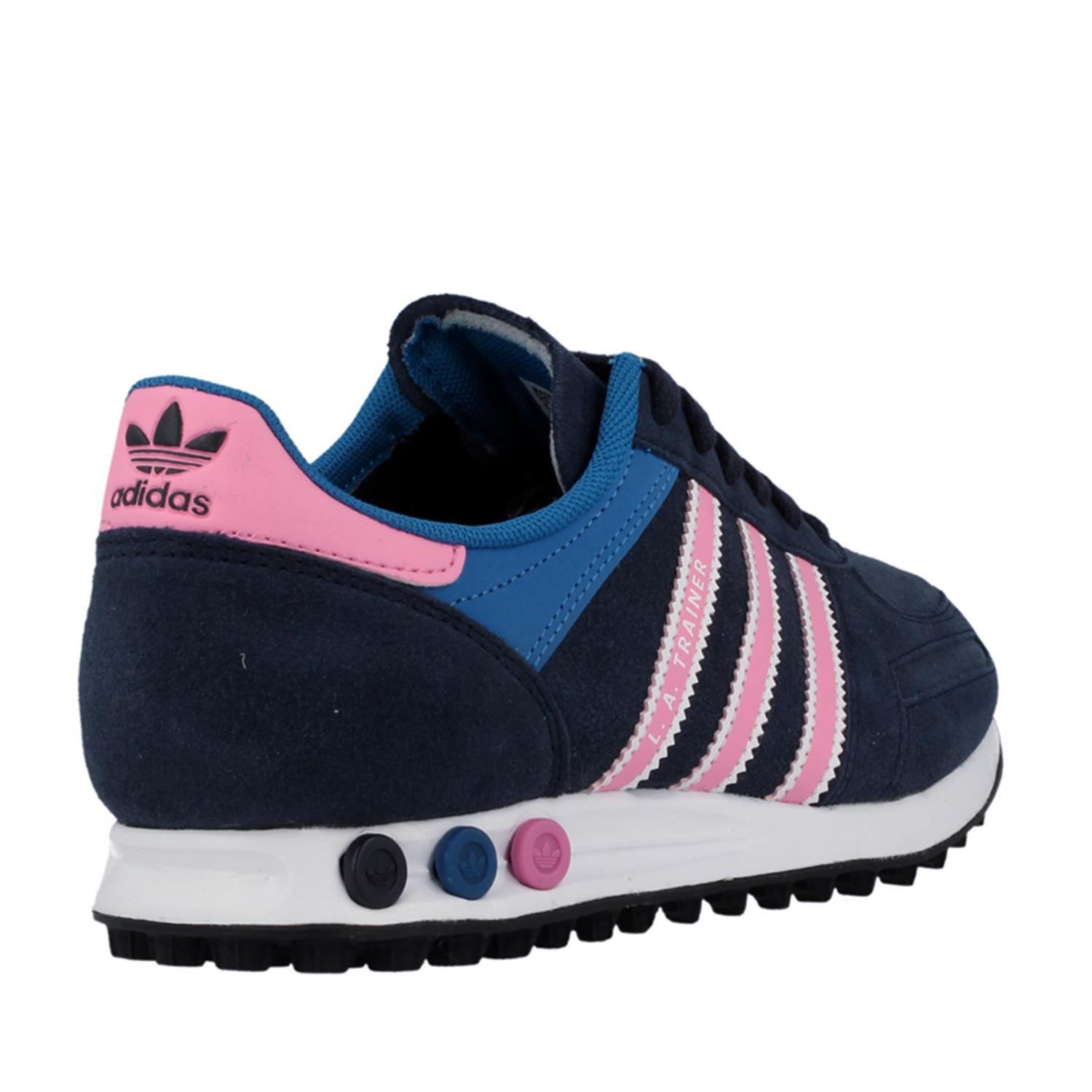 adidas sneaker damen blau rosa kinderhaus. Black Bedroom Furniture Sets. Home Design Ideas