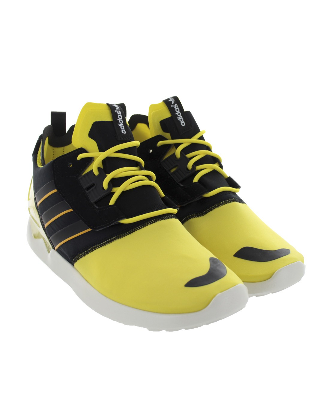adidas zx 8000 boost running shoes shoes trainers yellow