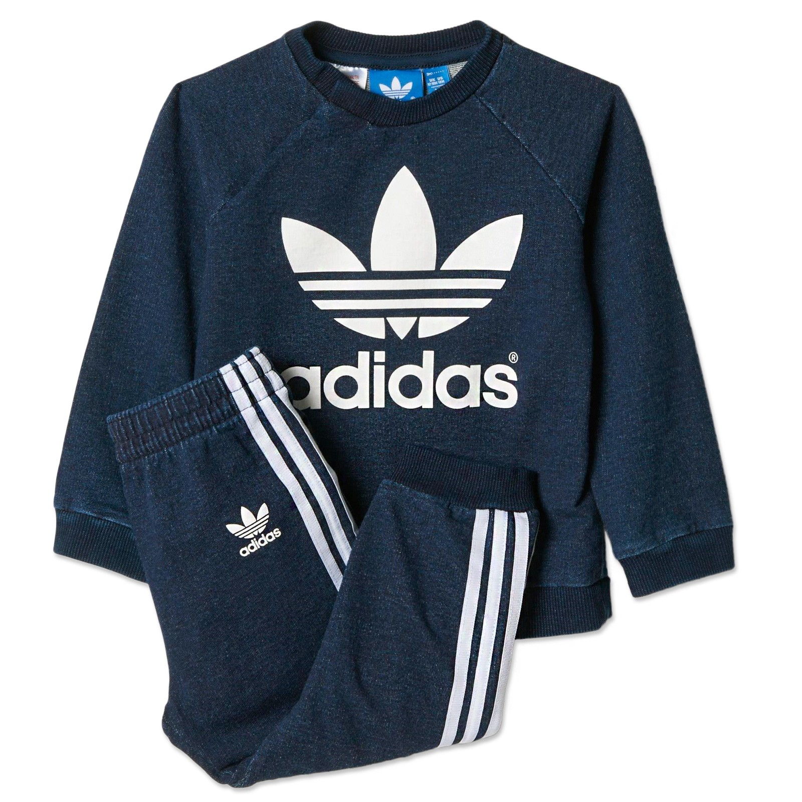 adidas originals jogger baby jeans jogging suit denim. Black Bedroom Furniture Sets. Home Design Ideas