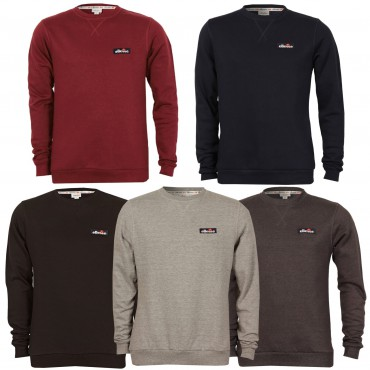 ellesse serve sweatshirt herren pullover langarm shirt. Black Bedroom Furniture Sets. Home Design Ideas