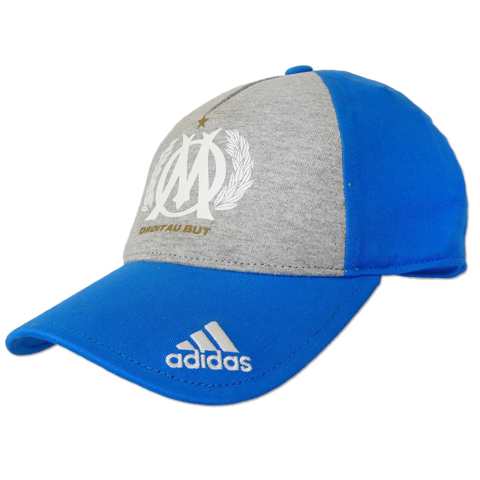 Adidas Om Club Cap Olympique Marseille Men M Tze Osfm Blau