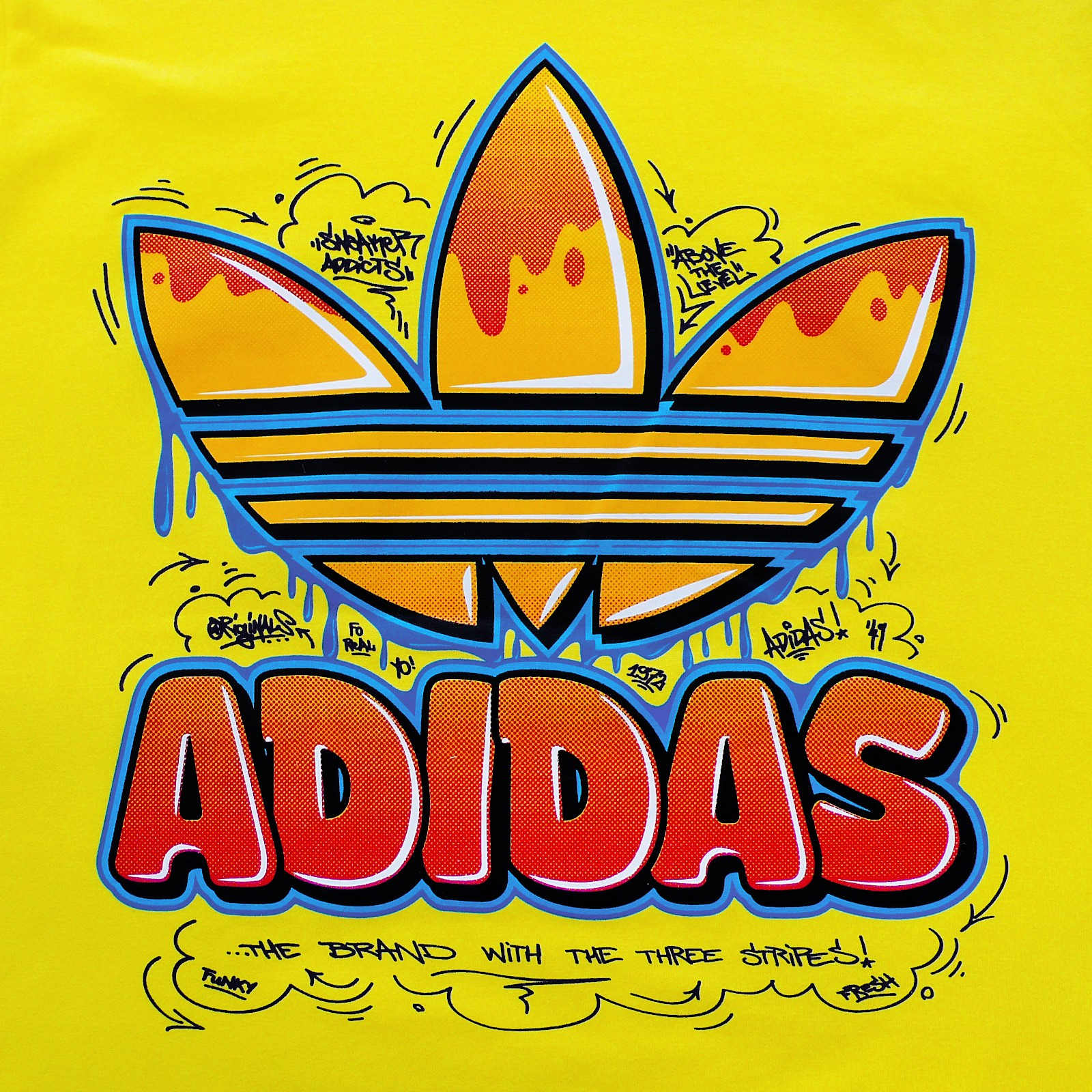 yellow adidas logo - photo #33