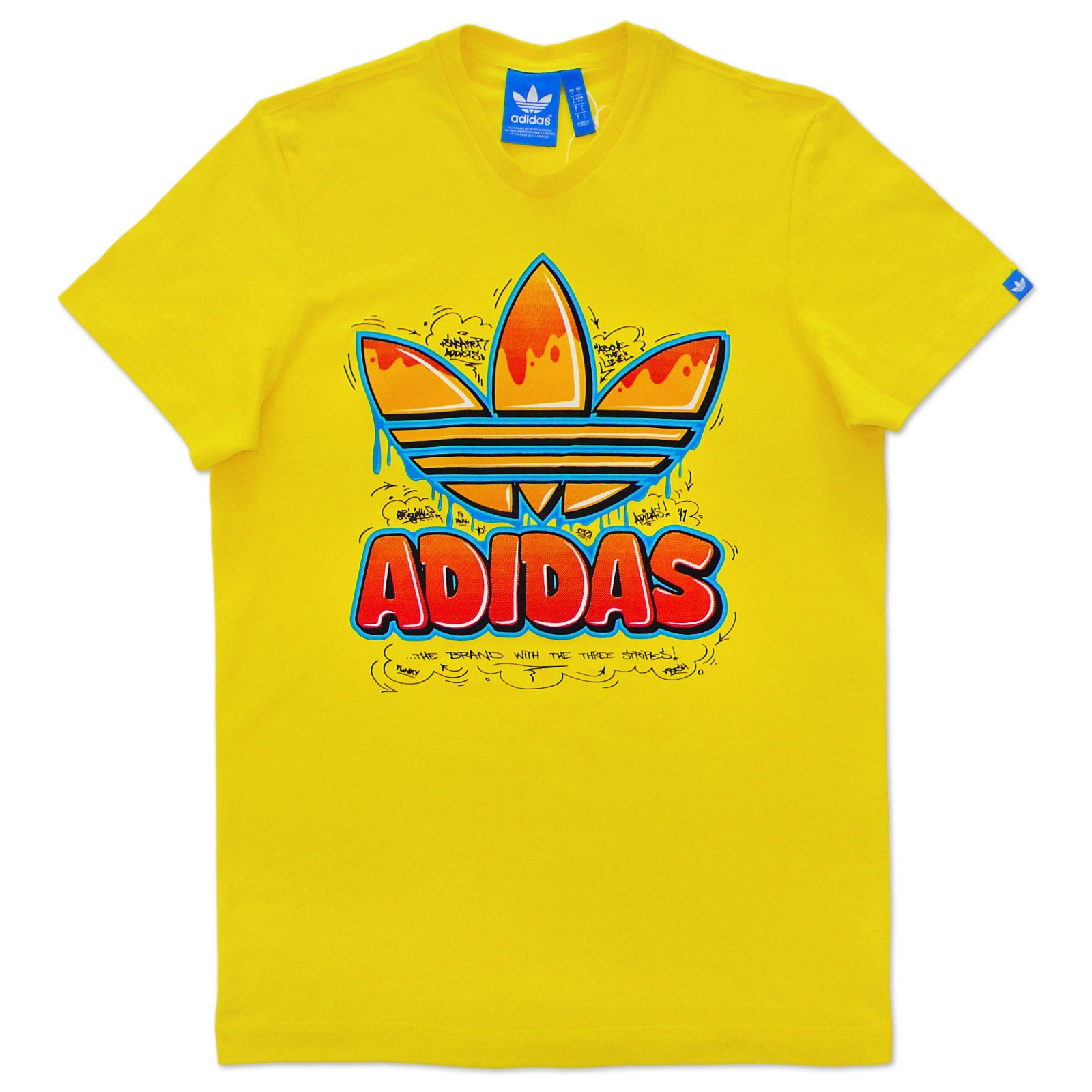 yellow adidas logo - photo #27