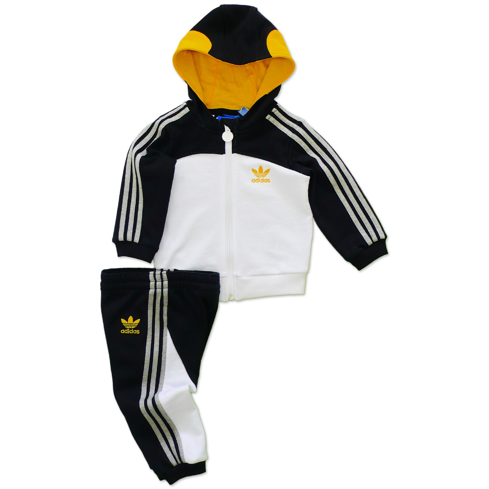 adidas originals kinder pinguin jogger trainingsanzug sport anzug jacke hose ebay. Black Bedroom Furniture Sets. Home Design Ideas
