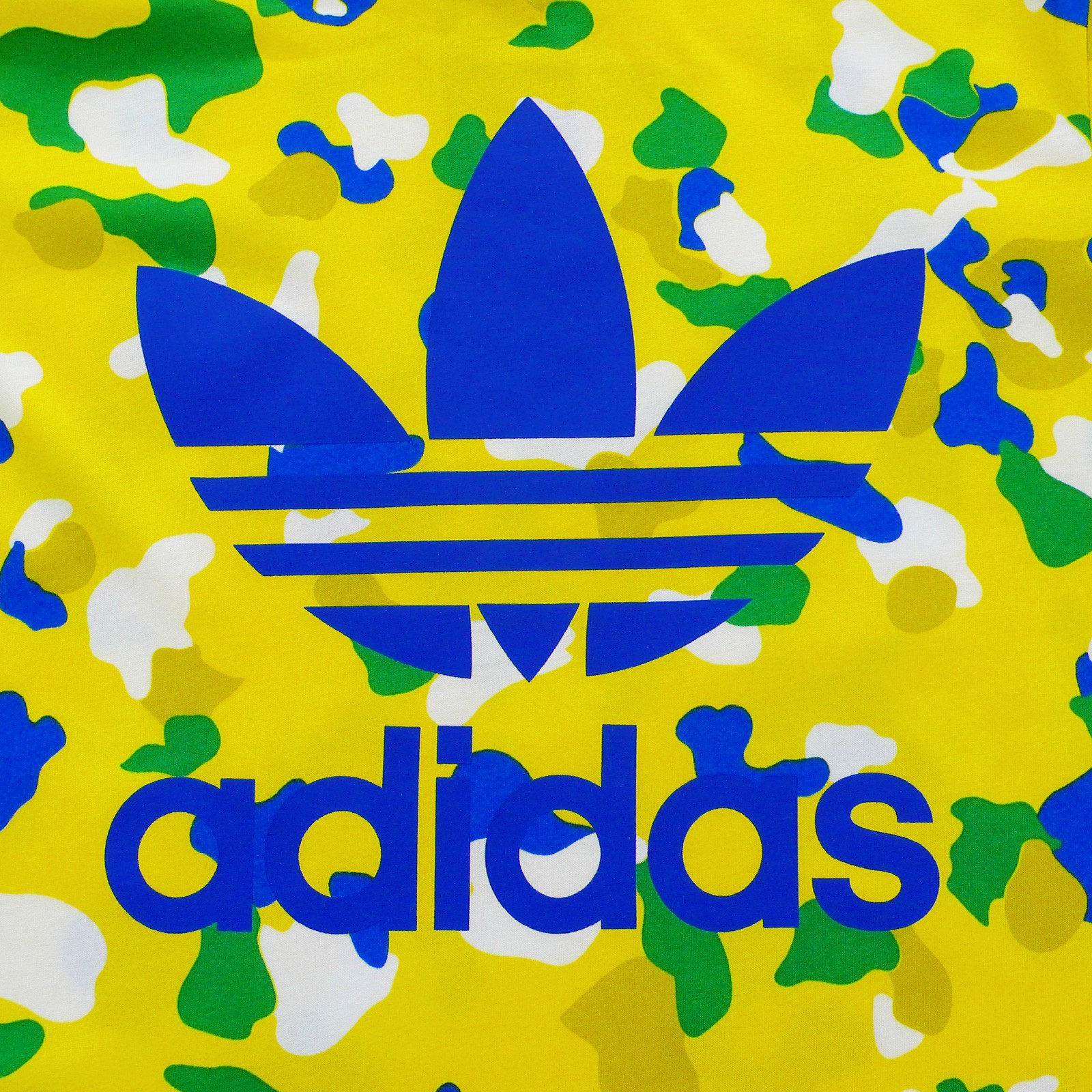 yellow adidas logo - photo #19