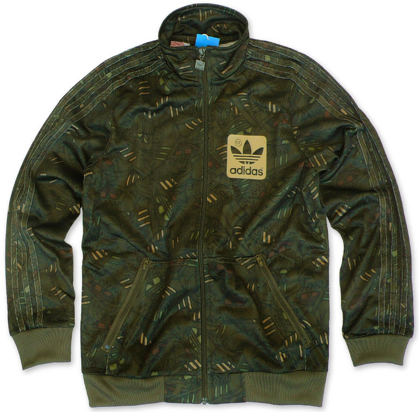 adidas originals superstar camo jungen jacke trainingsjacke oliv 128 176 ebay. Black Bedroom Furniture Sets. Home Design Ideas