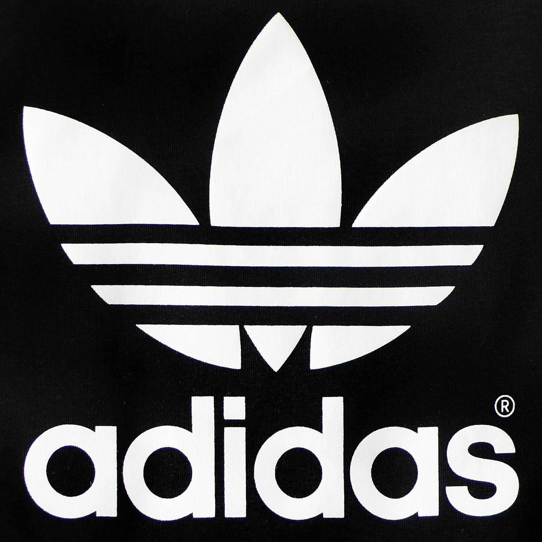 adidas originals ac trefoil logo baby children boys t