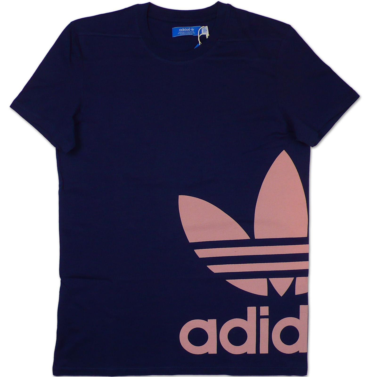 Adidas originals ac graphic trefoil tee herren logo t for Adidas long sleeve t shirt with trefoil logo