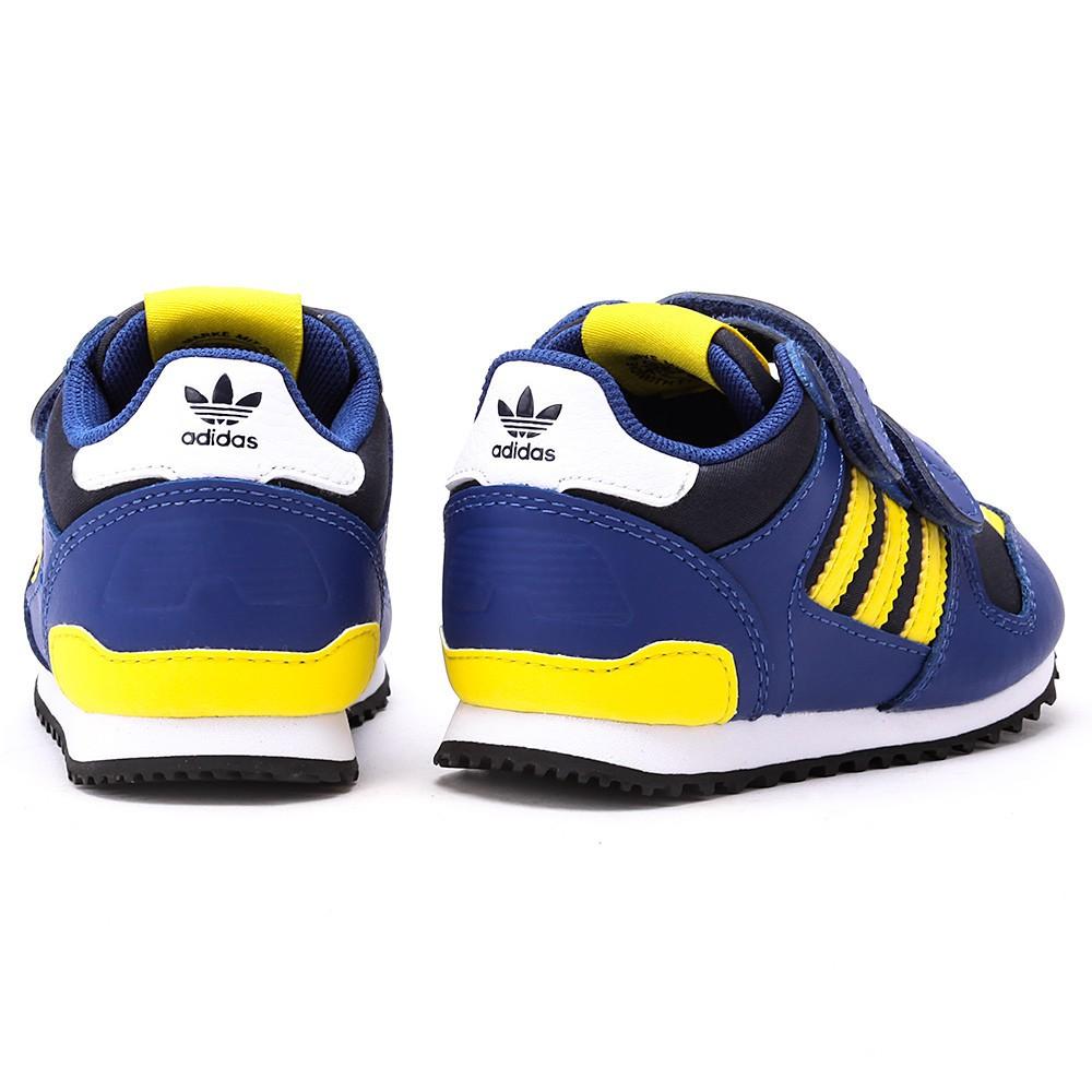 adidas originals zx 700 kinder sneaker g95287 blau gelb. Black Bedroom Furniture Sets. Home Design Ideas