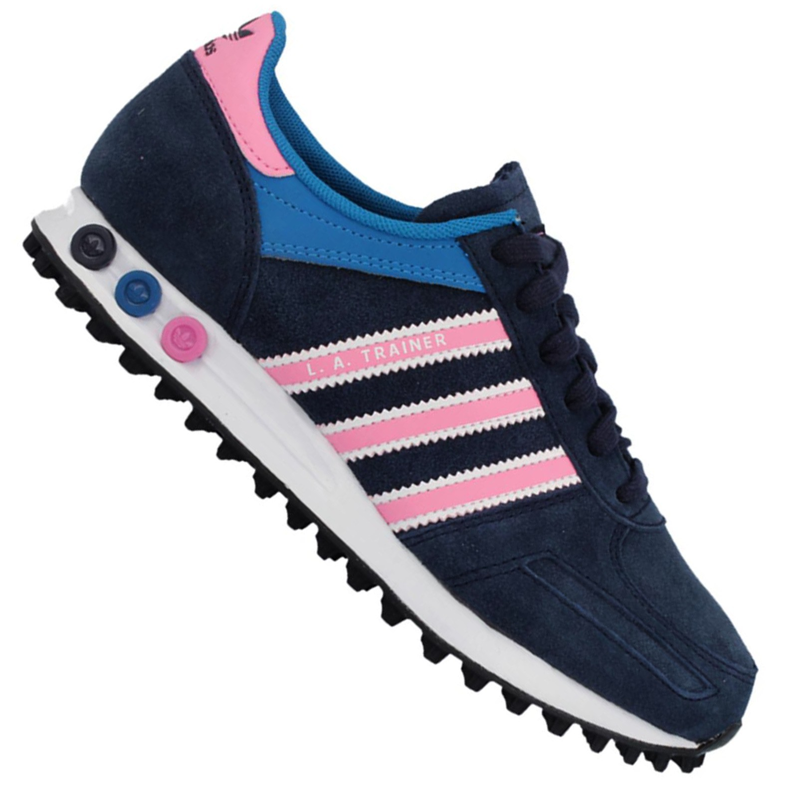 adidas originals la trainer ladies sneaker shoes gazelle. Black Bedroom Furniture Sets. Home Design Ideas