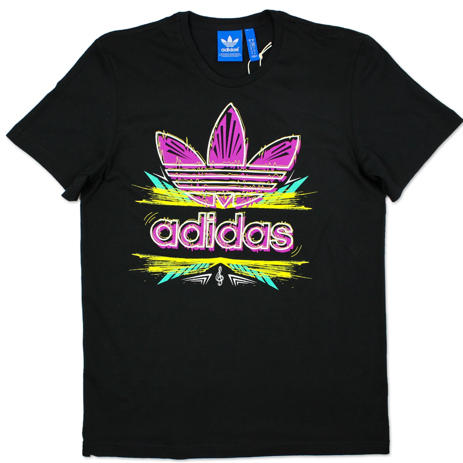 Adidas Originals G Ethnic Evo Trefoil Tee Herren Musik