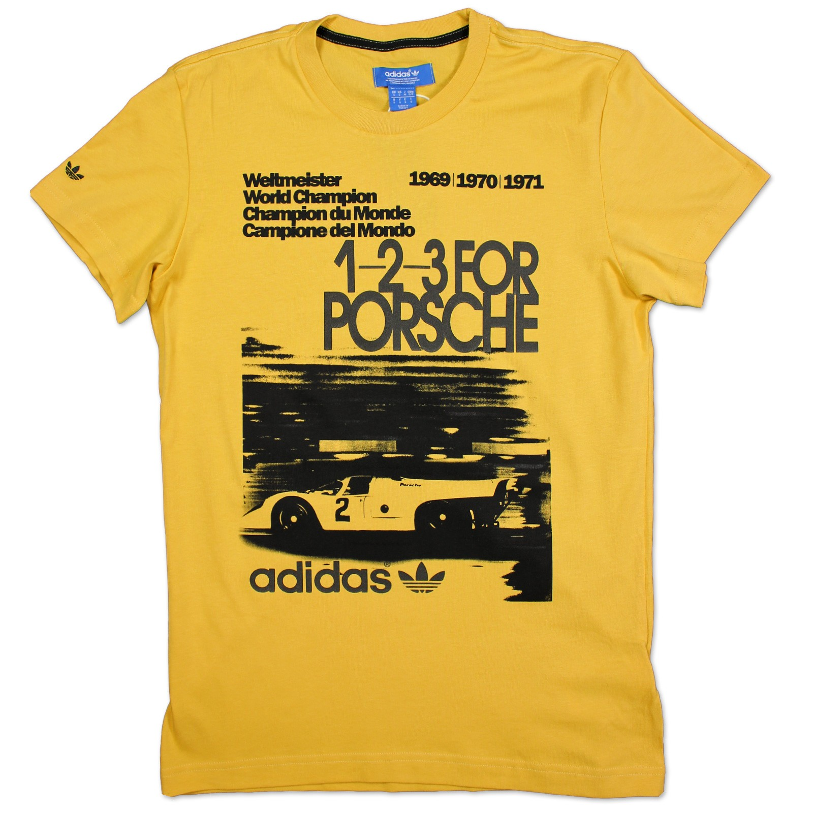adidas originals herren porsche fia wagen rennen t shirt. Black Bedroom Furniture Sets. Home Design Ideas