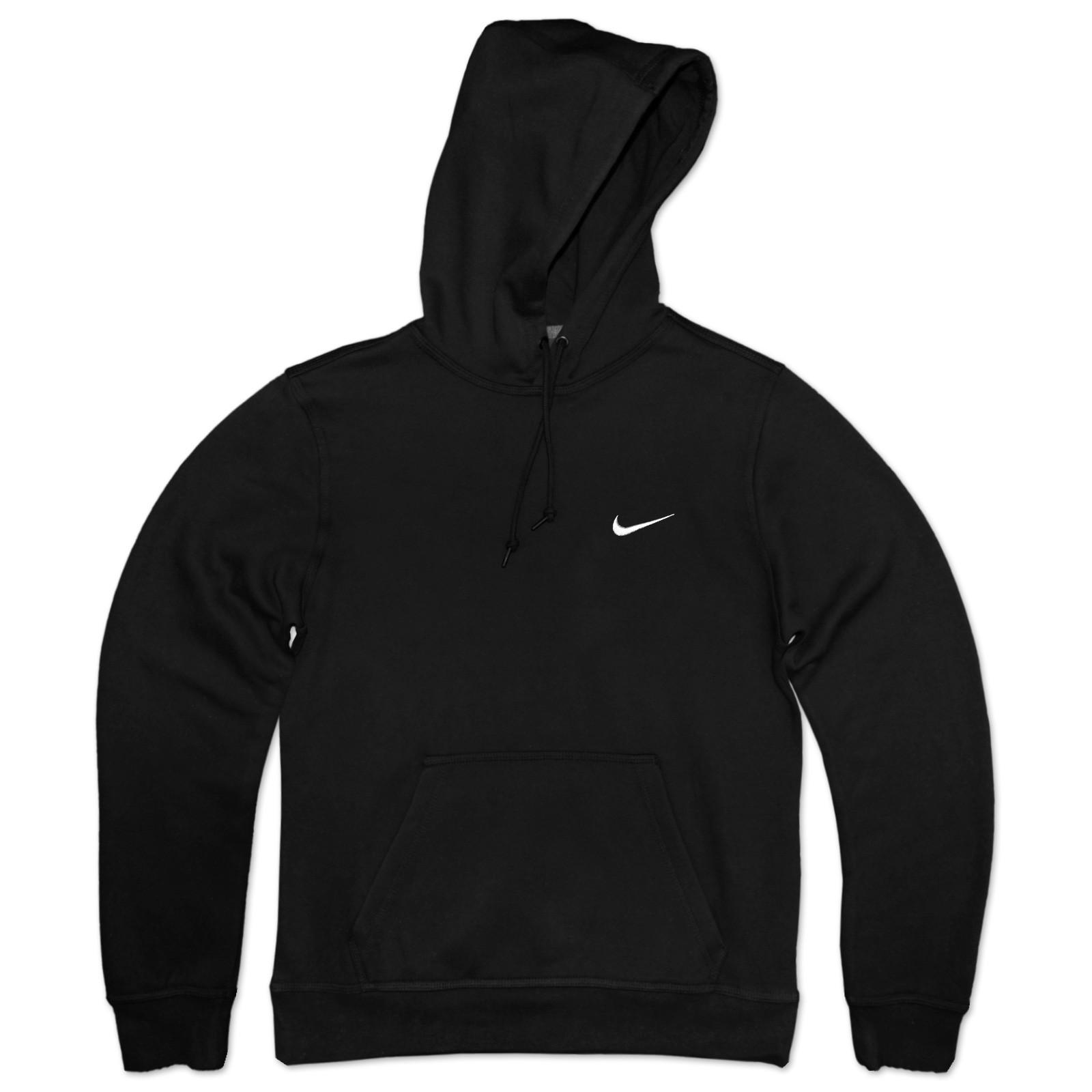 Black pullover hoodies