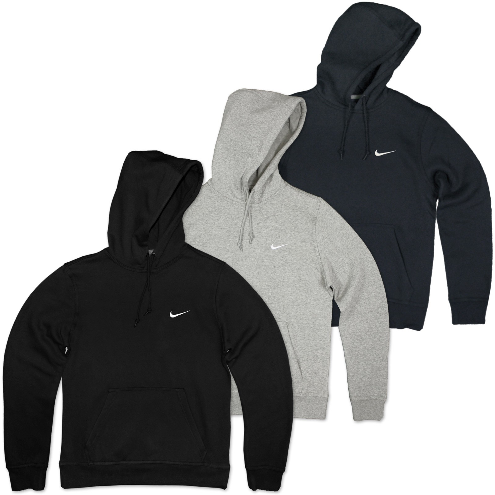 nike swoosh hoodie fleece kapuzen pulli sweatshirt jumper. Black Bedroom Furniture Sets. Home Design Ideas