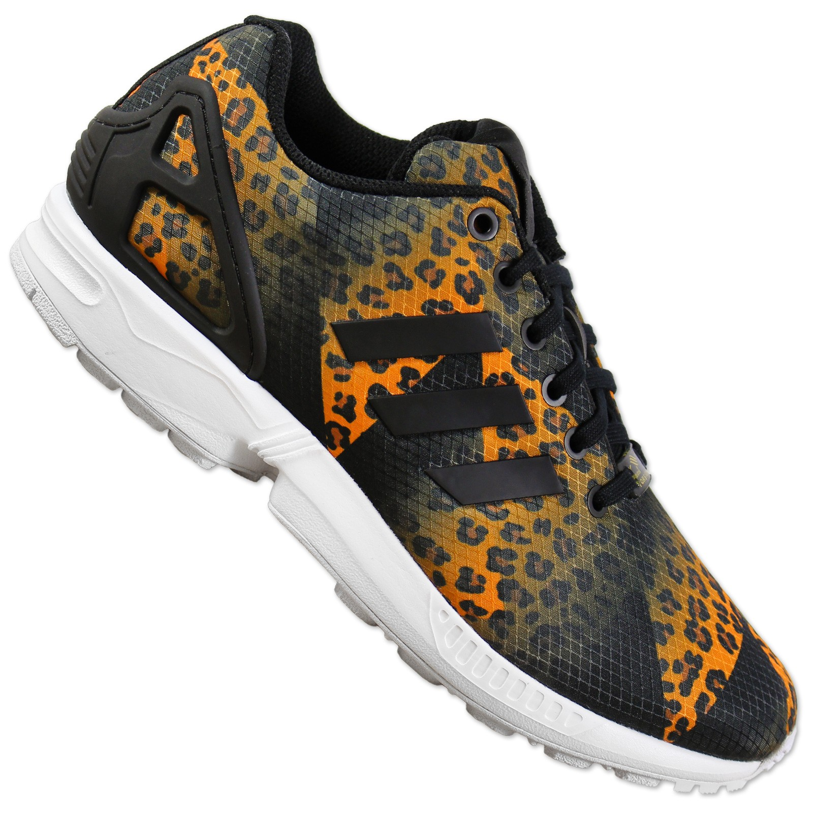 adidas originals zx flux sneaker m75496 schwarz leopard. Black Bedroom Furniture Sets. Home Design Ideas