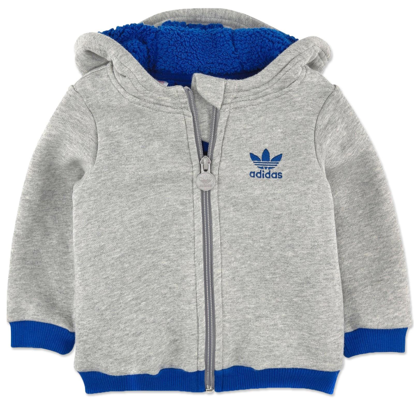 adidas baby winter teddy jacke kinder sweatshirt gef ttert. Black Bedroom Furniture Sets. Home Design Ideas