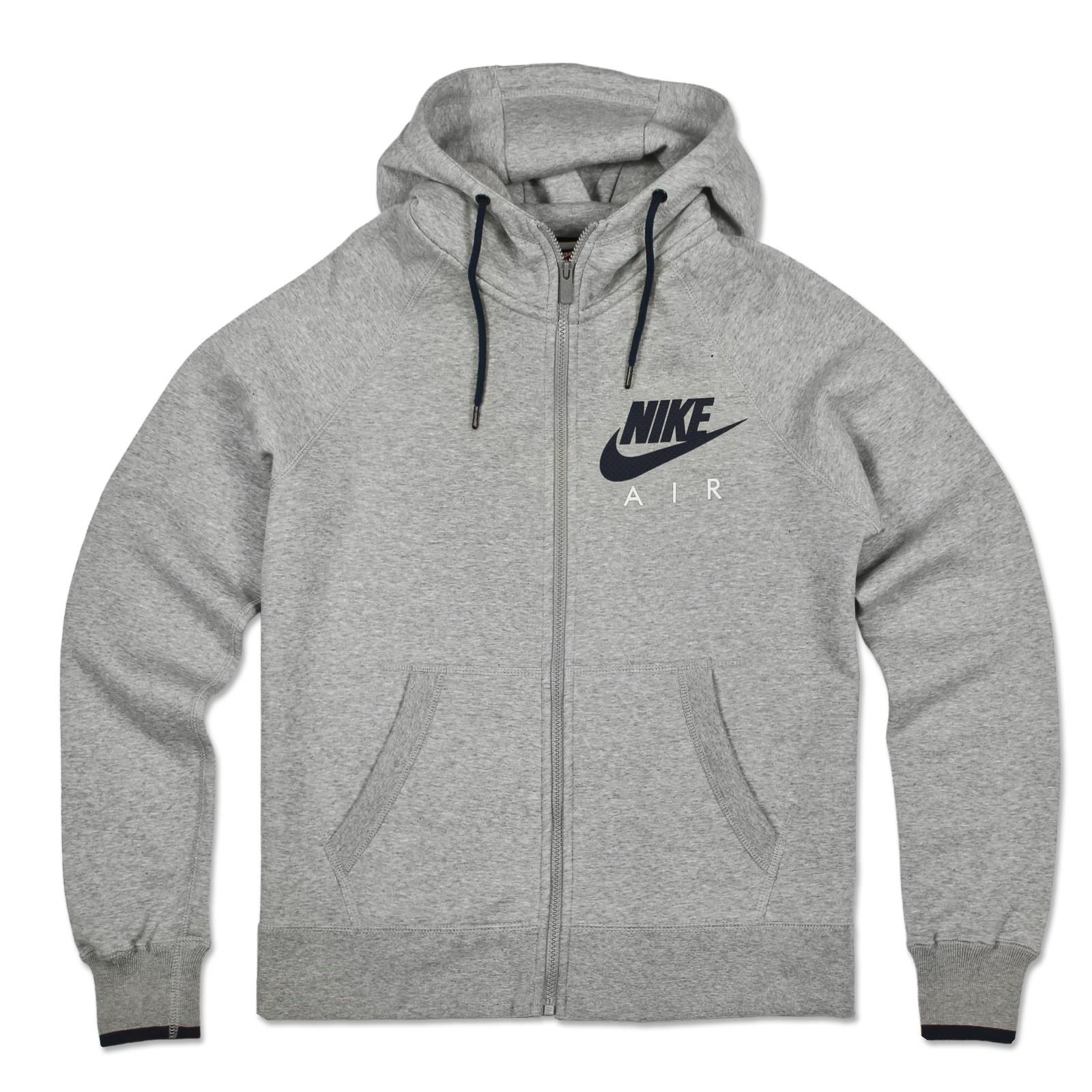 nike swoosh air hoodie fleece hooded jumper club hoody sweatshirt jacket s xl ebay. Black Bedroom Furniture Sets. Home Design Ideas