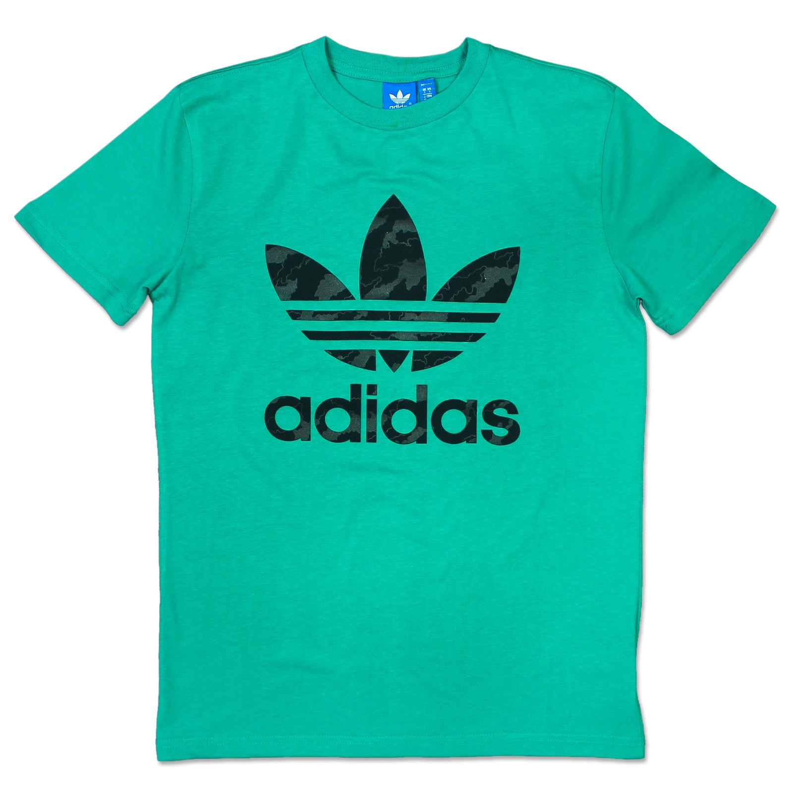 Adidas originals adi trefoil tee herren freizeit kult t for Adidas long sleeve t shirt with trefoil logo