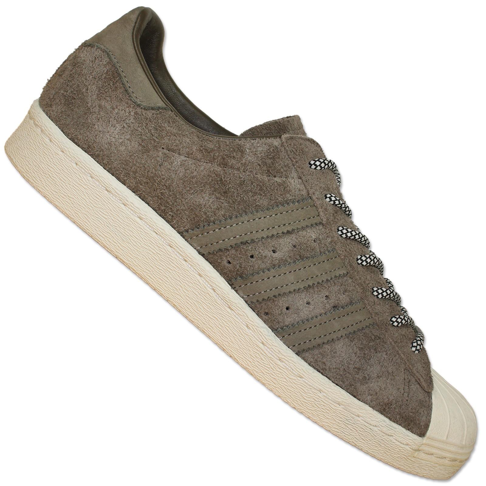 adidas originals urban superstar casual shoes suede brown. Black Bedroom Furniture Sets. Home Design Ideas