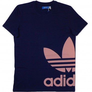 ADIDAS ORIGINALS Graphic Trefoil Shirt - blau – Bild 1