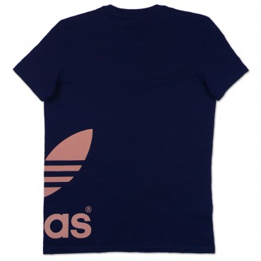 ADIDAS ORIGINALS Graphic Trefoil Shirt - blau – Bild 2