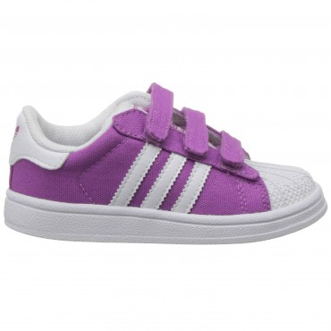 ADIDAS ORIGINALS Superstar II - lila/weiß – Bild 2