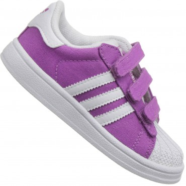 ADIDAS ORIGINALS Superstar II - lila/weiß – Bild 1