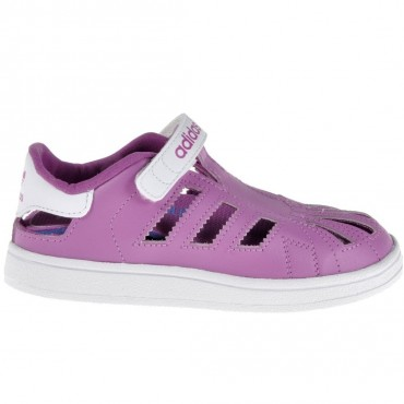ADIDAS ORIGINALS Superstar Sandalen - lila – Bild 1