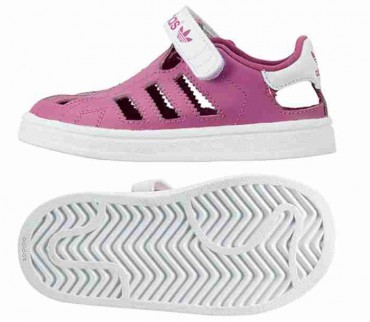 ADIDAS ORIGINALS Superstar Sandalen - lila – Bild 2