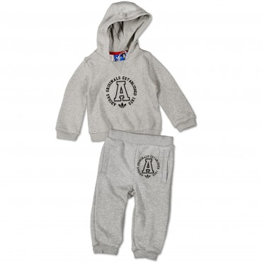 ADIDAS ORIGINALS Infant Teddy Track Suit – Bild 1