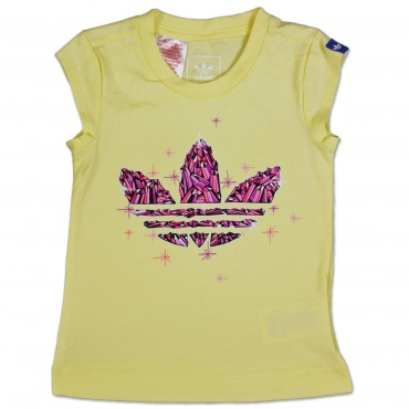 ADIDAS ORIGINALS Graphic Trefoil Kinder Tee – Bild 1