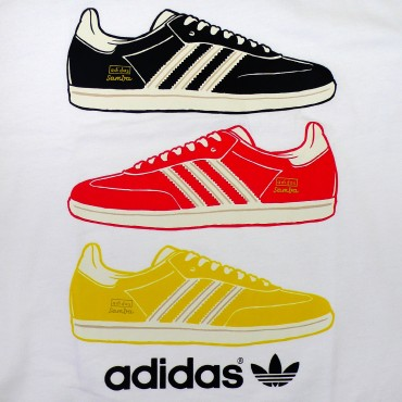 ADIDAS ORIGINALS Country Shirt Deutschland – Bild 2