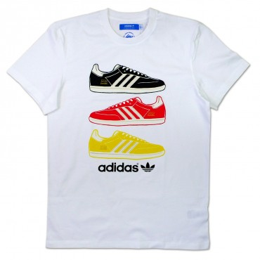 ADIDAS ORIGINALS Country Shirt Deutschland – Bild 1