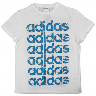 ADIDAS ORIGINALS x Jeremy Scott Flag Tee – Bild 1