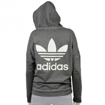ADIDAS ORIGINALS Washed Crew Zip Jacke – Bild 1