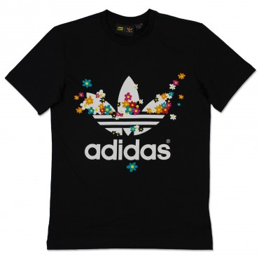 ADIDAS ORIGINALS X PHARRELL WILLIAMS Adicolor Flower Shirt – Bild 1