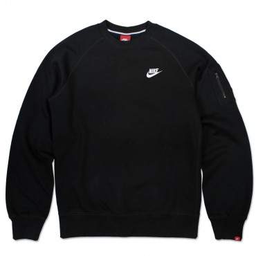 NIKE Brushed Crew Club Fleece Sweatshirt – Bild 1
