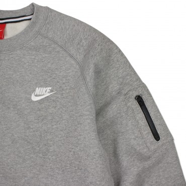 NIKE Brushed Crew Club Fleece Sweatshirt – Bild 2