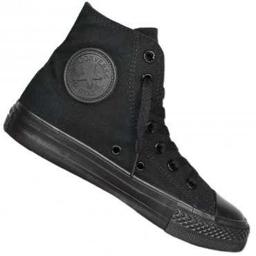 CONVERSE All Star Chucks Mono Black High – Bild 1