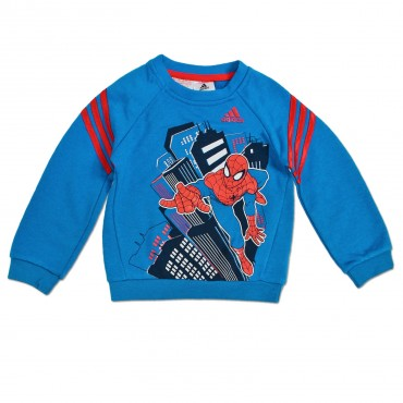 ADIDAS Kinder Marvel Spiderman Trainingsanzug – Bild 2