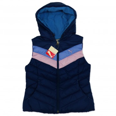PUMA Hooded Down Vest