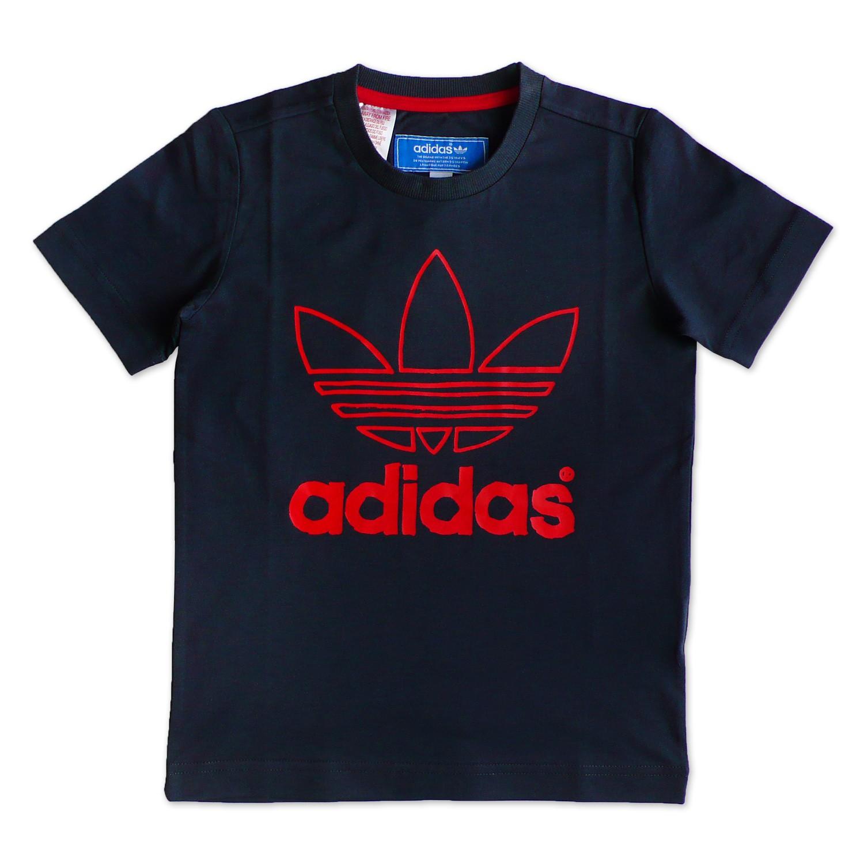 Adidas Originals Ac Trefoil Logo Baby Kinder Jungen Tee